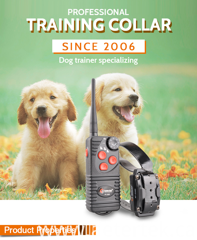 Electronic Training Anti Bark Collar AT-216D