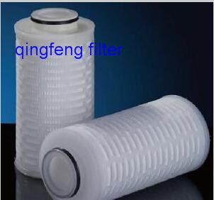 Glass Fiber Pleated Filter Cartridge for Process Filtration