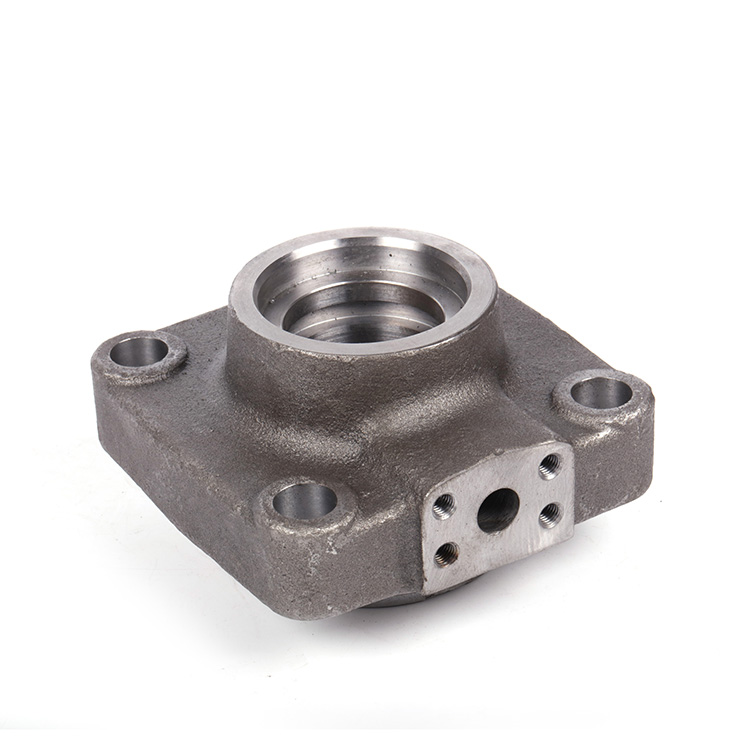 OEM customized investment casting aluminum Bearing flange auto parts for agricultural vehicles cheap