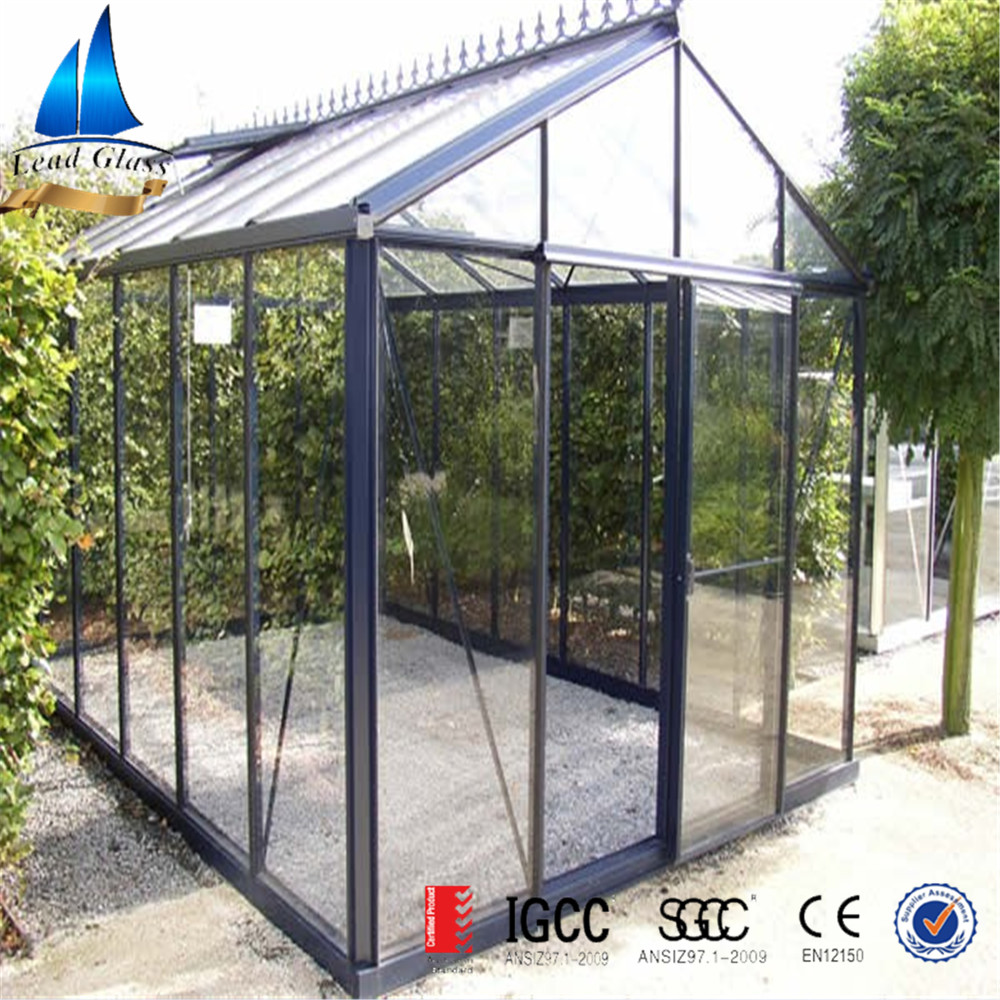 6mm tempered glass for greenhouse