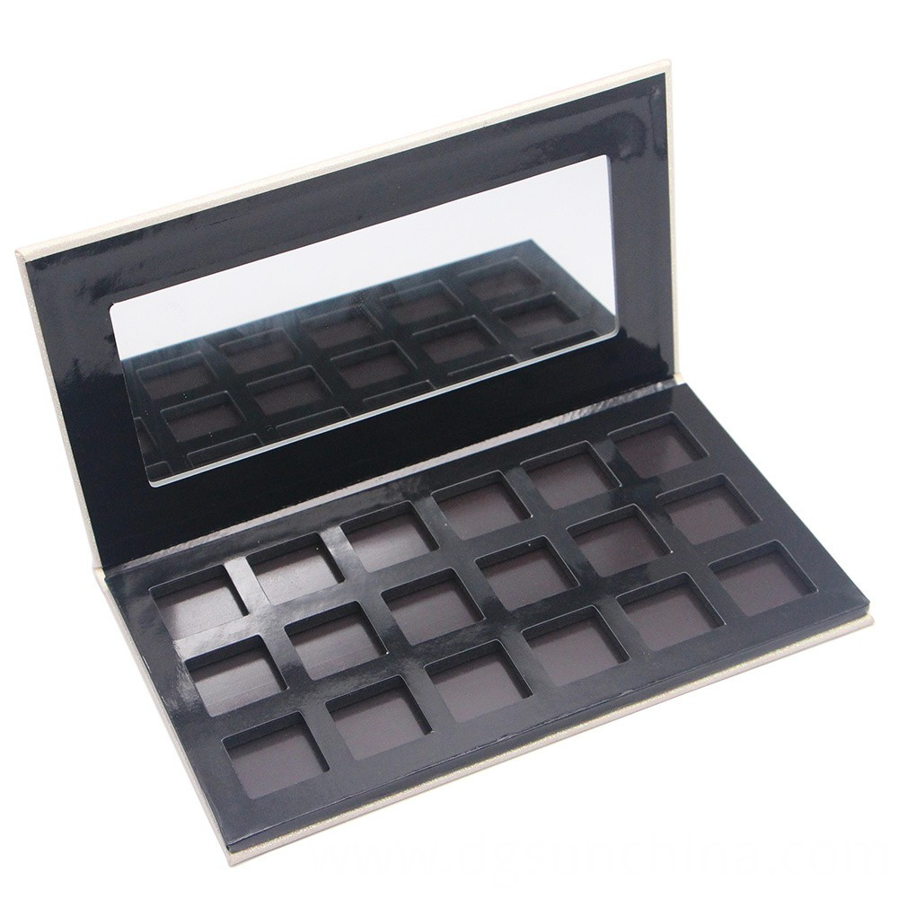 empty cosmetic palette