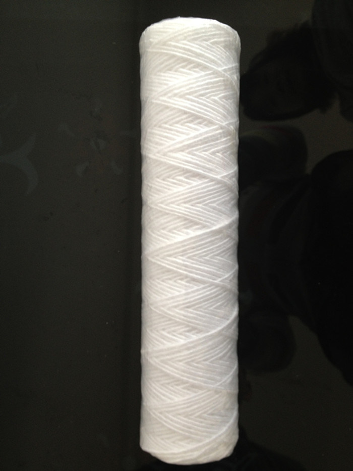 100% PP String Wound Filter Cartridge for Pharmaceuticals and Electronics Industries