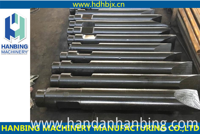 Customer Specifications Color and Different Diameters Hydraulic Breaker