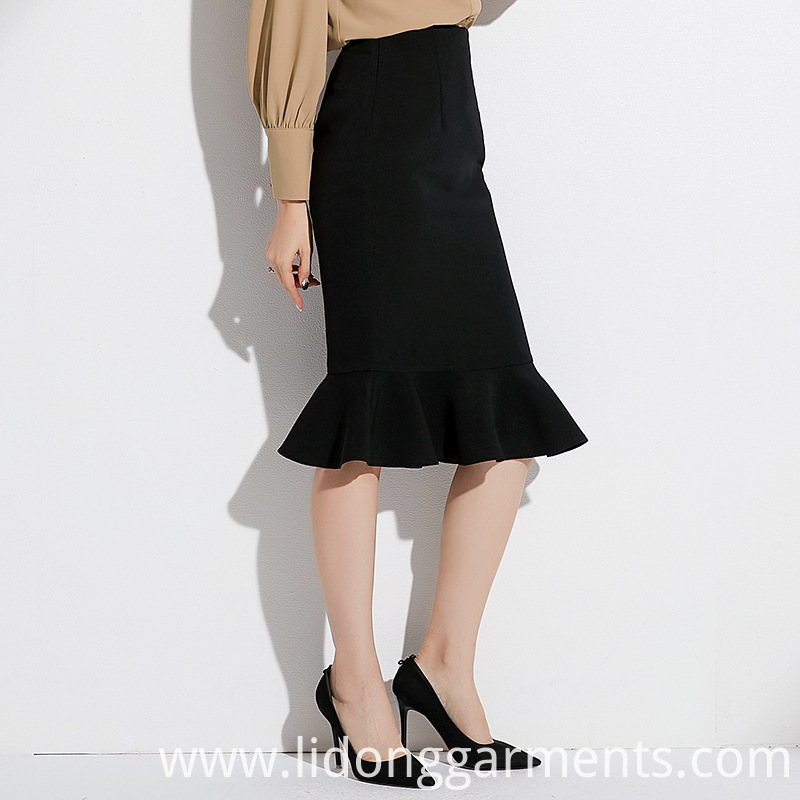 High Waist Slim Skirt