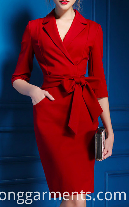 Uniform Designs Dresses Women Lady Office