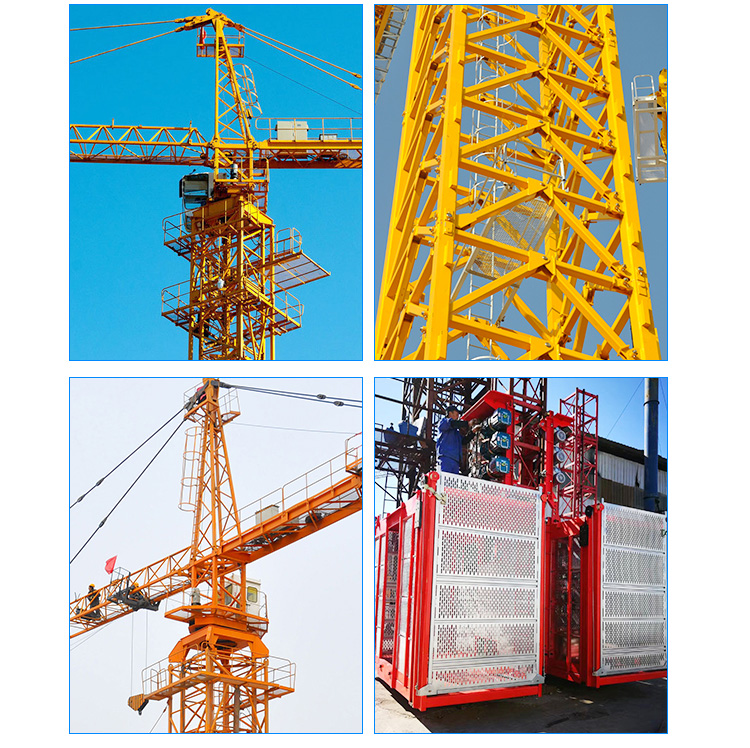 Exterior Wall Tower Crane