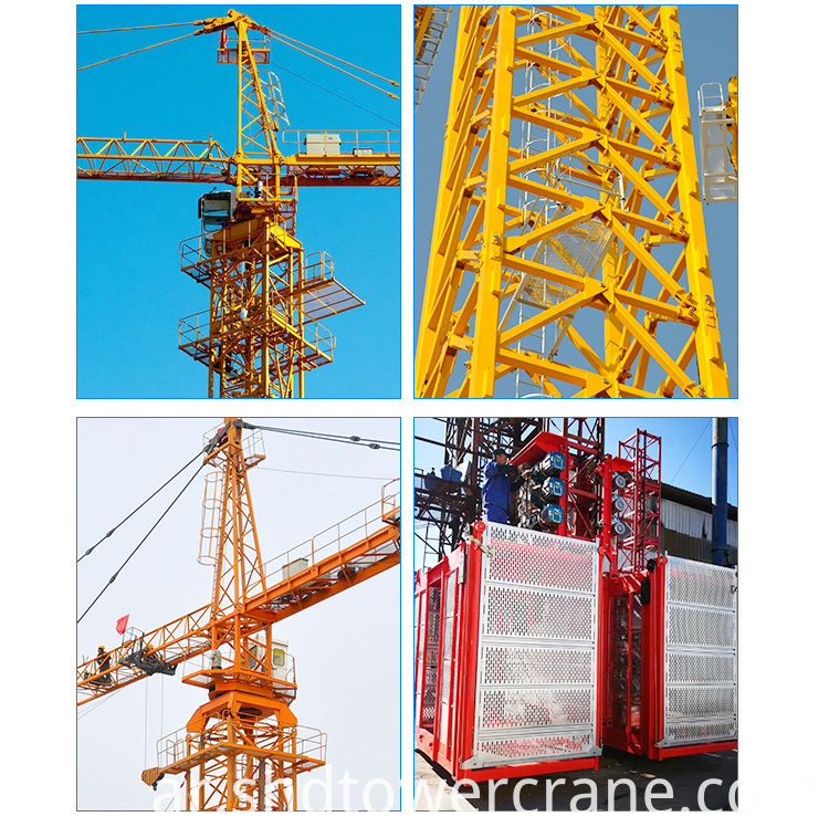 Hydraulic Tower Crane