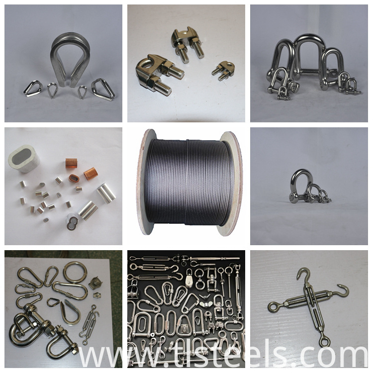 Stainless Steel Wire Rope 6mm