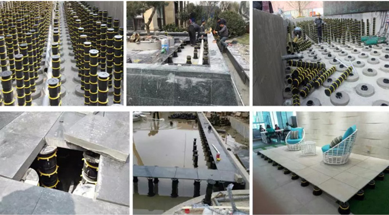 Self Level Adjustable Paver Pedestal