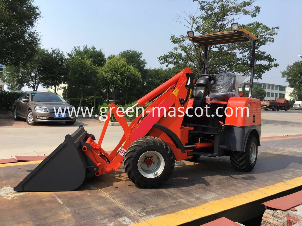 small electric wheel loader