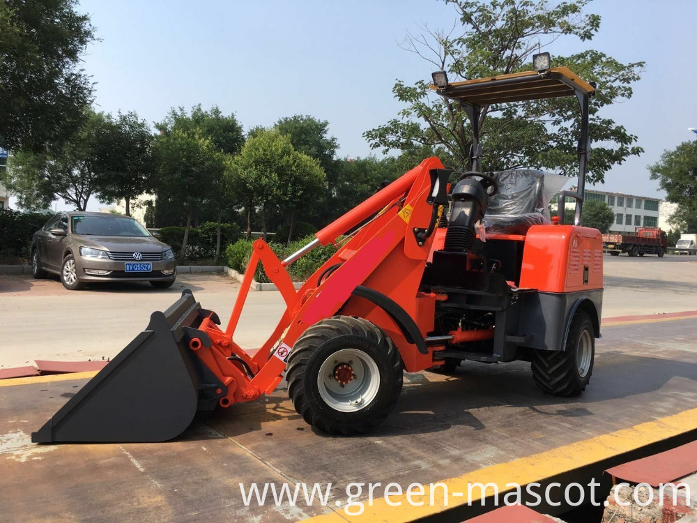 CE Electric front end loader