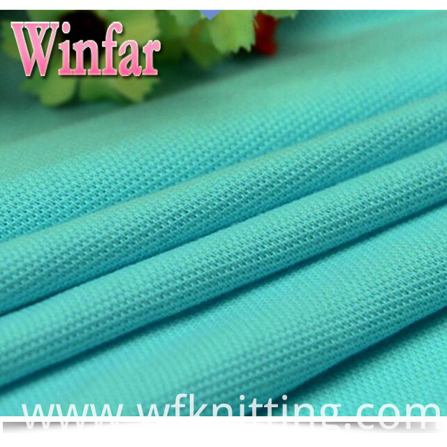 High Quality Polyester Pique Fabric