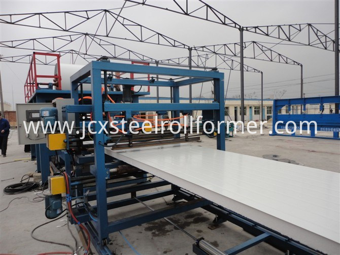 EPS and Meneral Wool Sandwich Panel Production Line