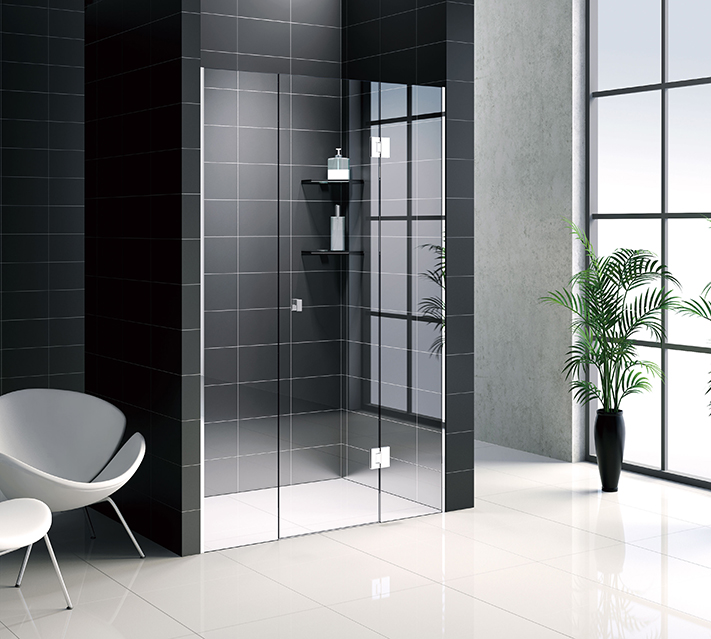 tempered shower door