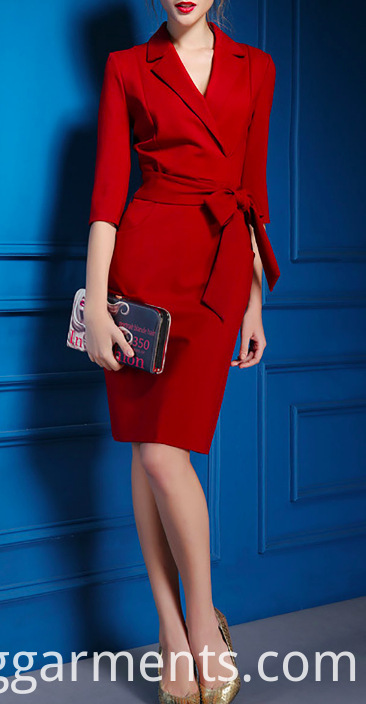 Elegant Office Ladies Dresses