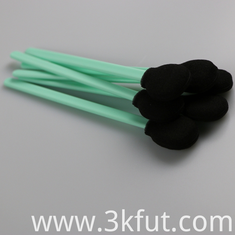packed foam swab stick