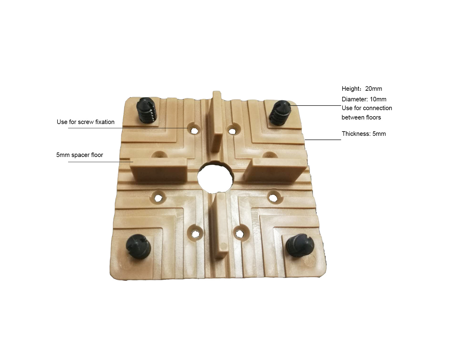 Deck Tile Connector