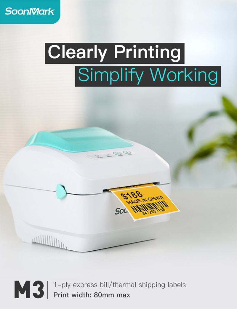 M3 thermal receipt printer