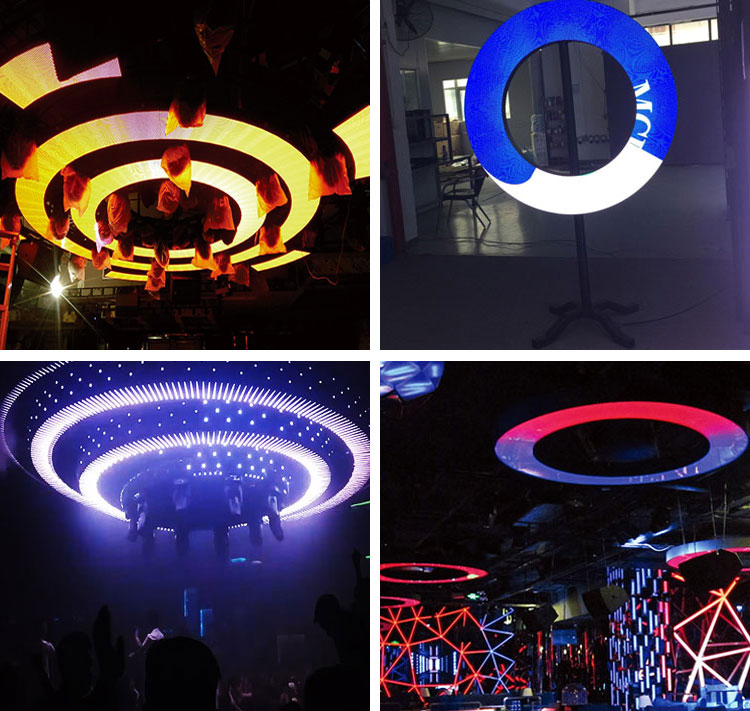 P4 Circular Customized Led Screen