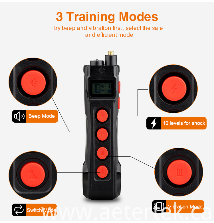 Bark Stop Electric Shock Training Collar
