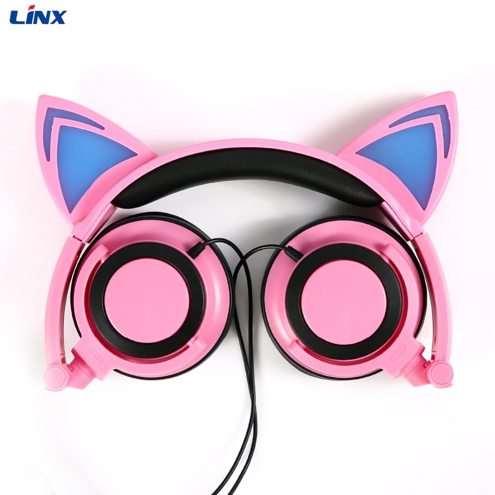 Cat ear headphone