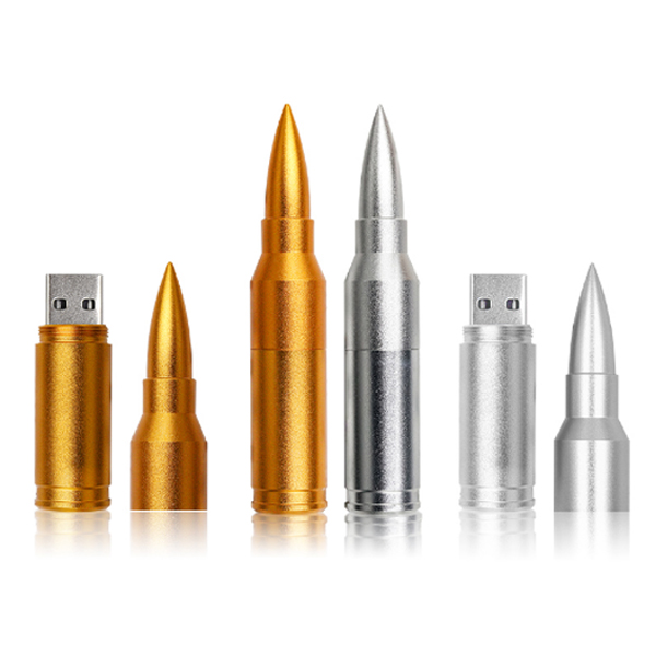 Bullet shape metal usb flash drive