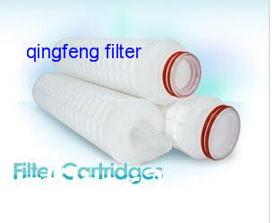 Glass Fiber Filter Cartridge for Gas and Liquids Filtration