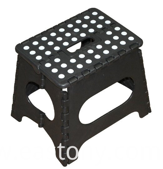 folding step stool handle