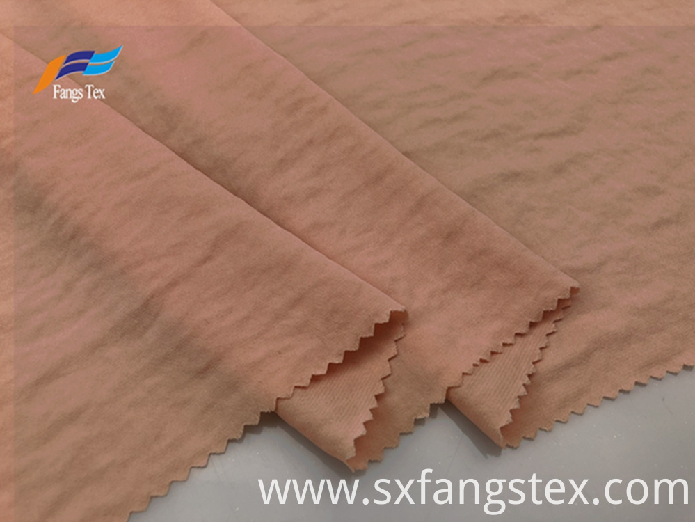 Soft Polyester Peach Skin Brushed LadiesTwill Fabric 6