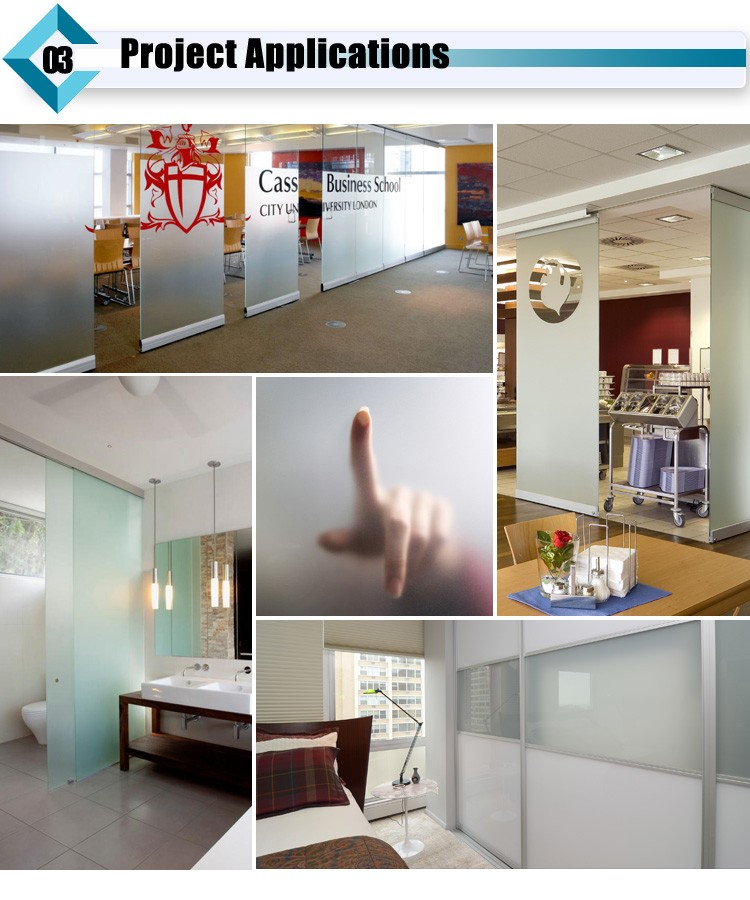 Frosted Glass Application