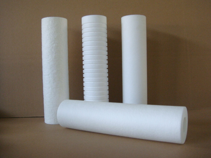 High Flux 10'' 20 Inch PP Melt Blown Filter Cartridge for Beverage and Wine Filtration