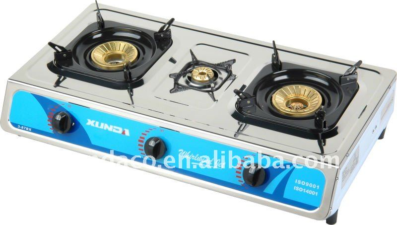 Stainless Steel Brass Burners Gas Stove