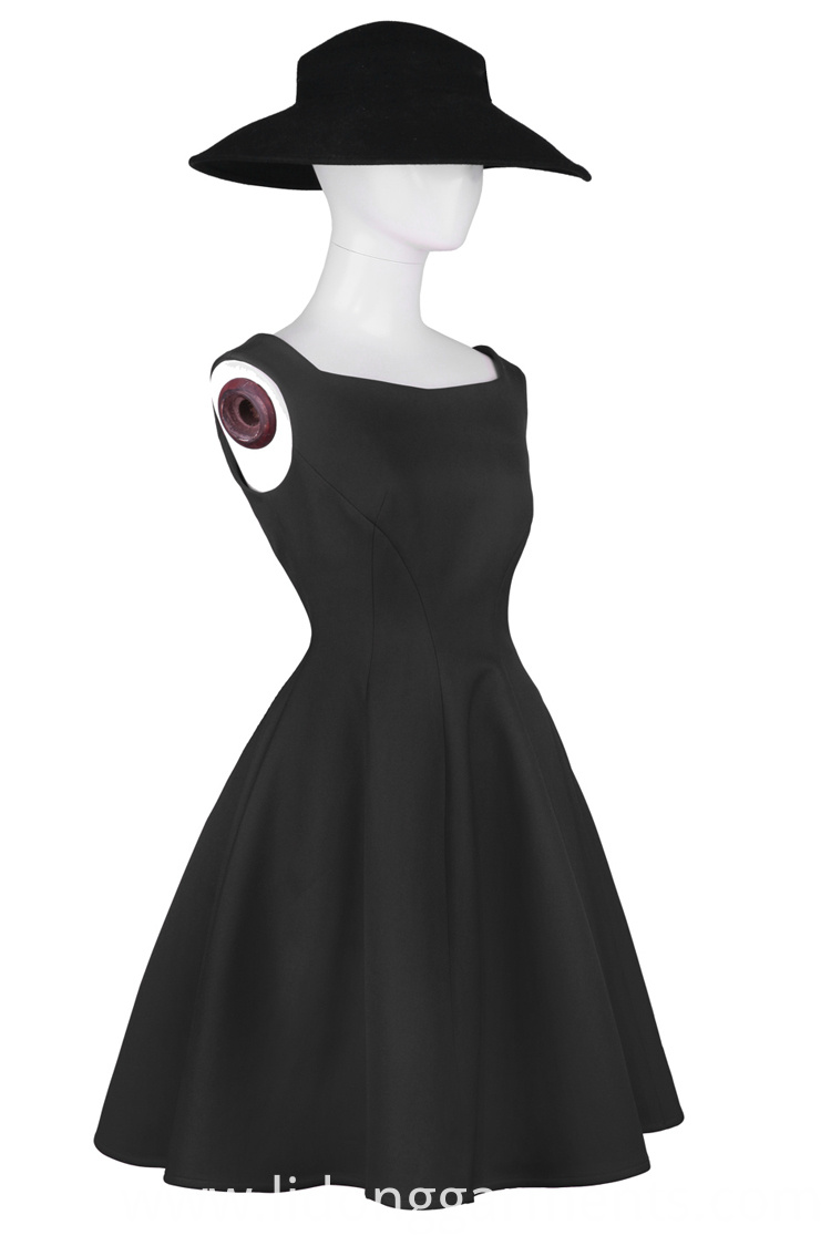 High Quality Black Dress For Lady