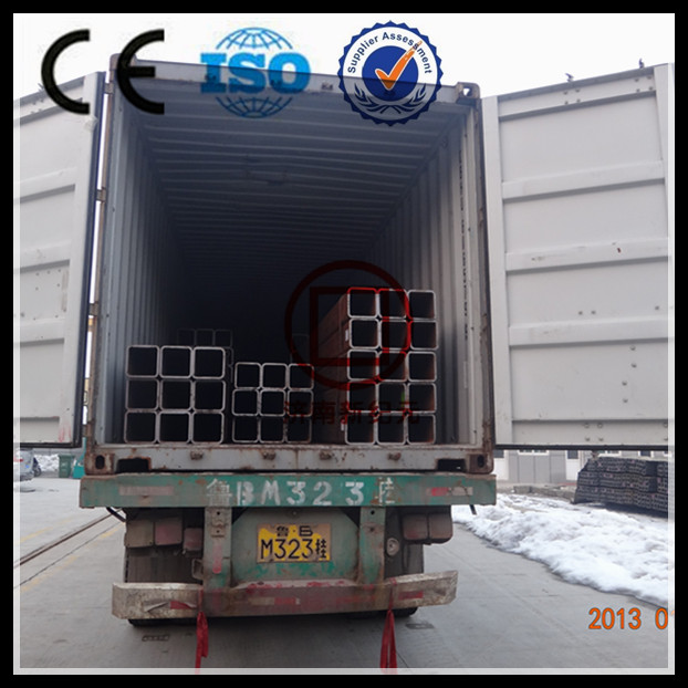 High Quality Black Welded Steel Tube Q235