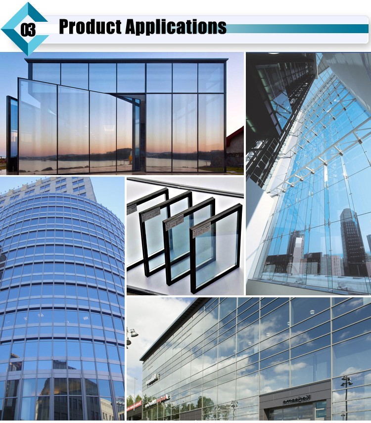 Triple Glazing Building Glass