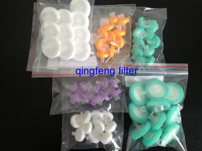 13mm 0.45 Micron PVDF Lab Use Syringe Filter