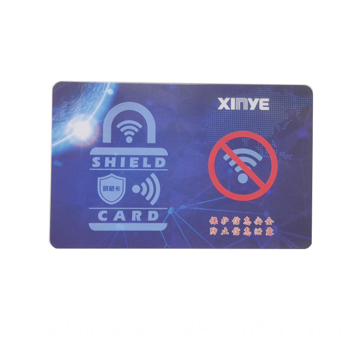 RFID Blocking Card For Wallet