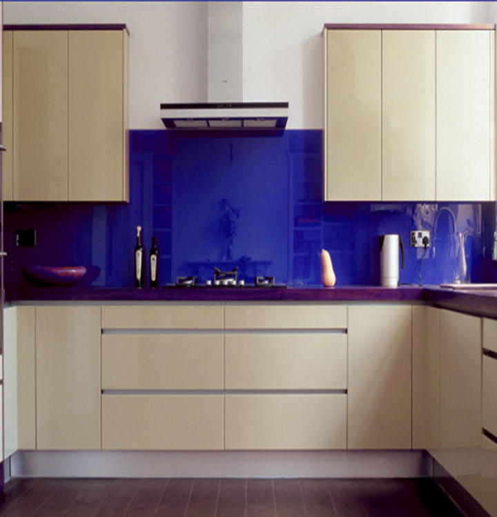 Painted Tempered Splashback Glass