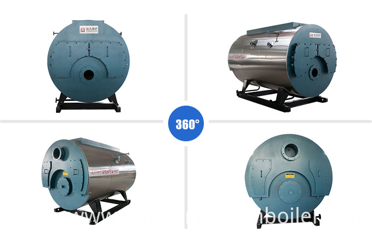 Industrial Gas Oil Steam Boiler for sale