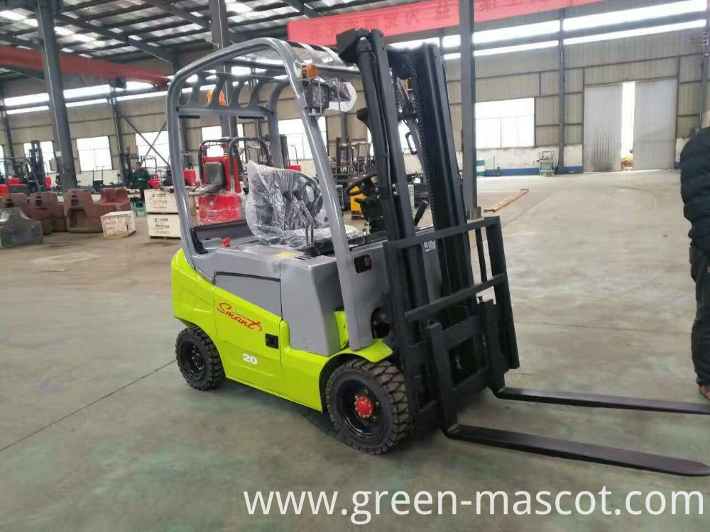 Electric forklift full freedom lifting 1.8 ton