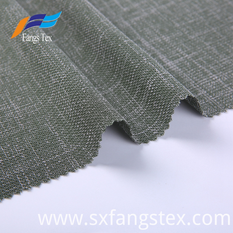 Gray 100% Polyester Home Textile Tricot Garment Fabric