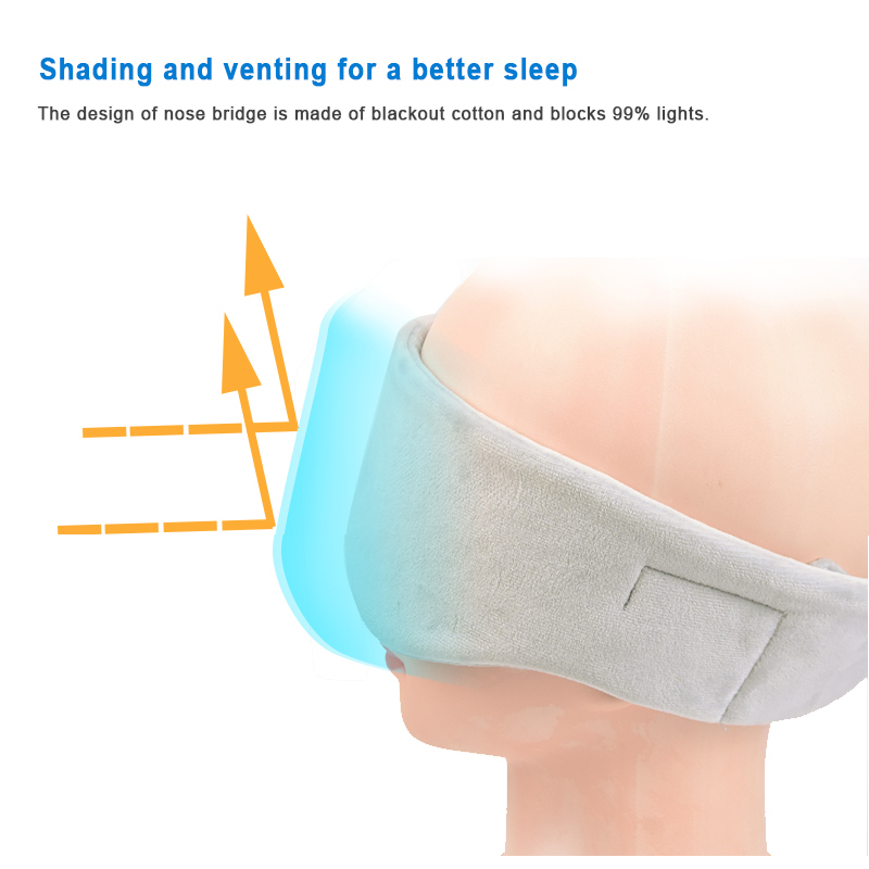 bluetooth sleeping eye mask headphone