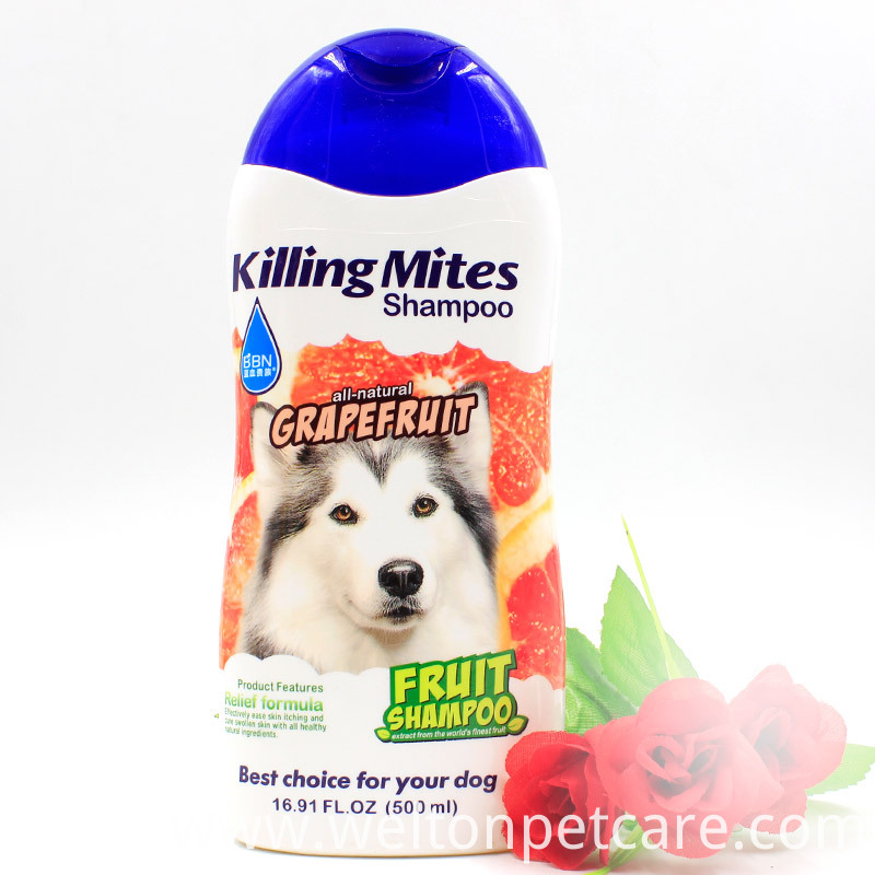 Hair beauty dog shampoo pet cleaning products